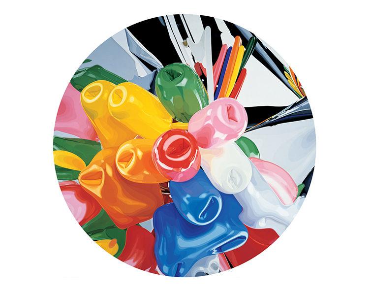 Jeff Koons plate