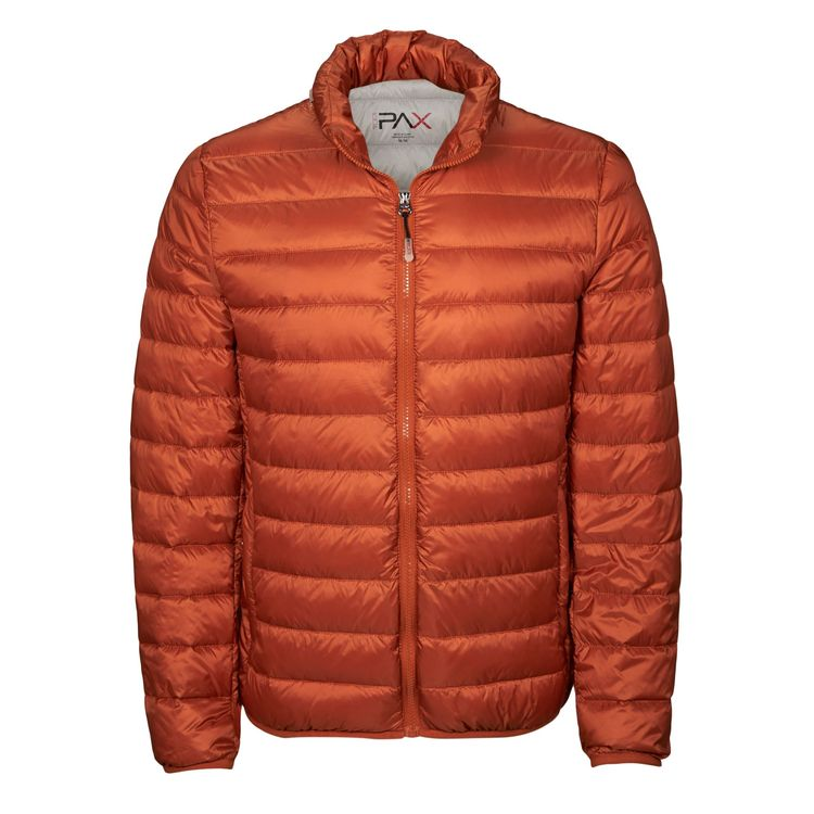 Tumi Pax Patrol Packable Travel Puffer Jacket in Mandarine Color