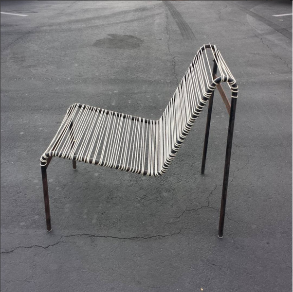 Chair designed by Harold Cohen and Davis Pratt