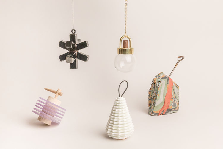 Holiday ornaments from Shinola and WorkOf Benefit Auction