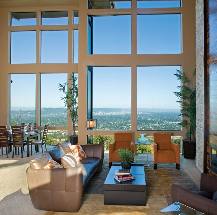 Milgard® Aluminum Picture Windows
