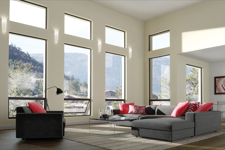 Milgard® Aluminum Awning Windows
