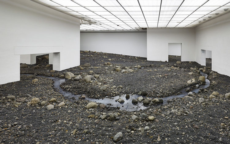"""Riverbed,"" Olafur Eliasson, 2014."