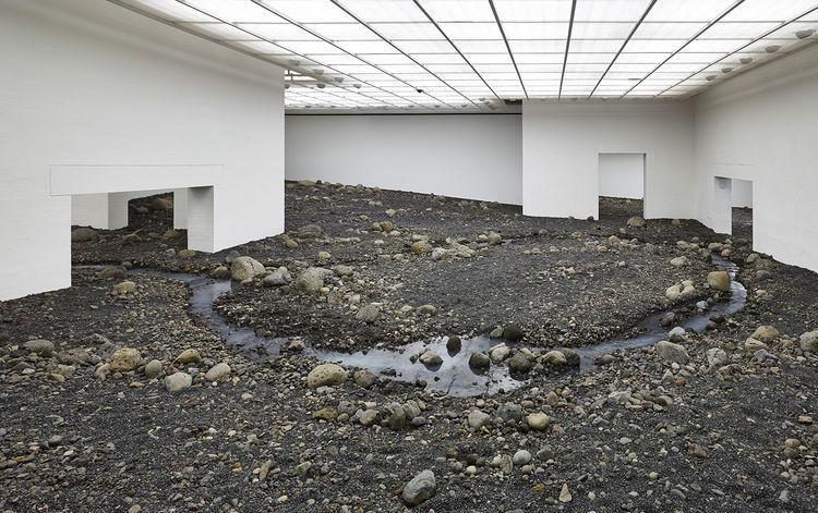 """Riverbed,"" Olafur Eliasson, 2014."