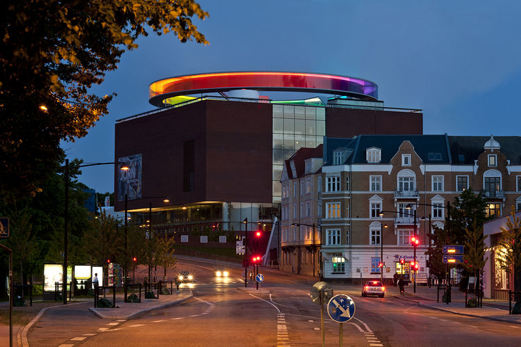 """""""Your Rainbow Panorama,"""" Olafur Eliasson, 2006-2011."""
