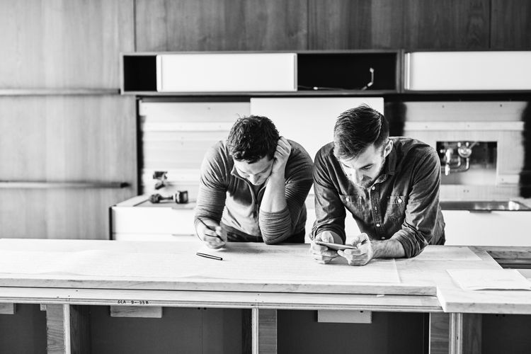 At the Henrybuilt test kitchen, engineers, designers, and craftspeople continuously collaborate.
