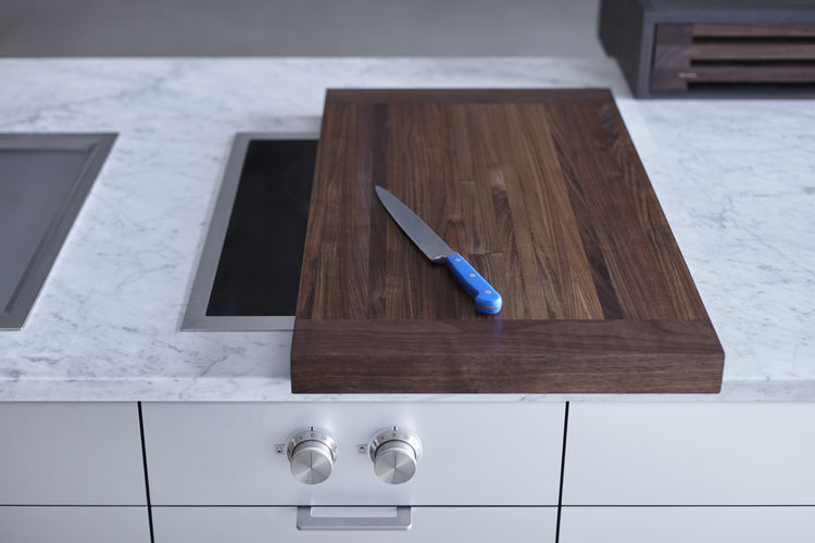 Custom cutting boards created for Henrybuilt's test kitchen
