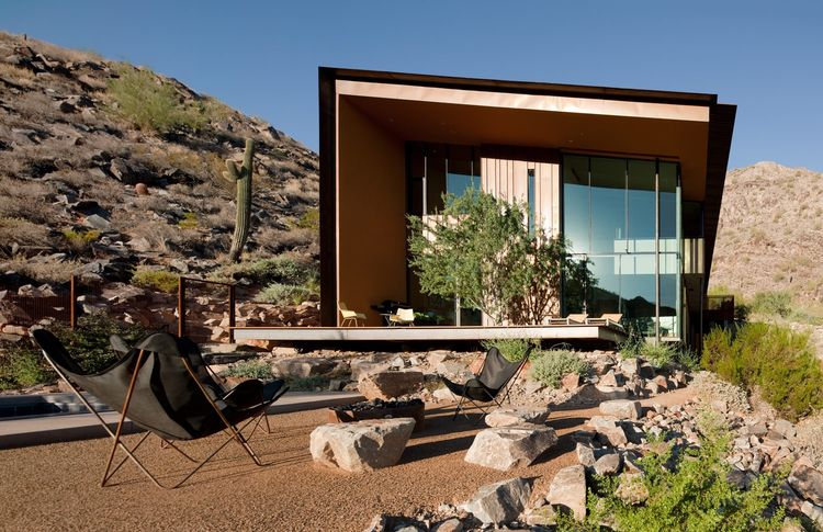 The Jarson Residence, designed by Will Bruder of Will Bruder Architects