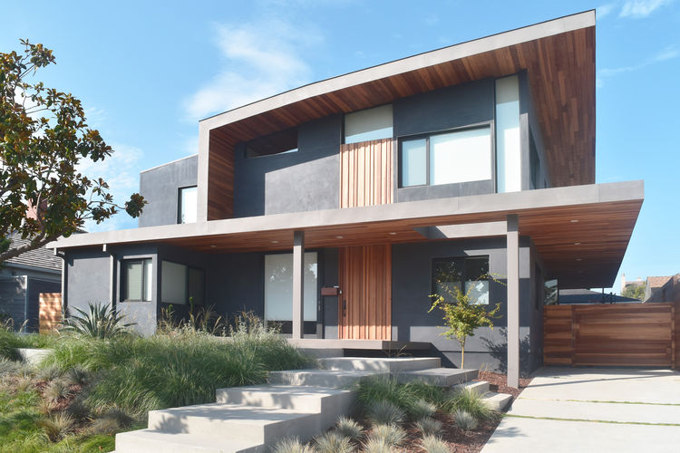 The Keeshan Drive residence designed by Glen Bell of DEX Studio.