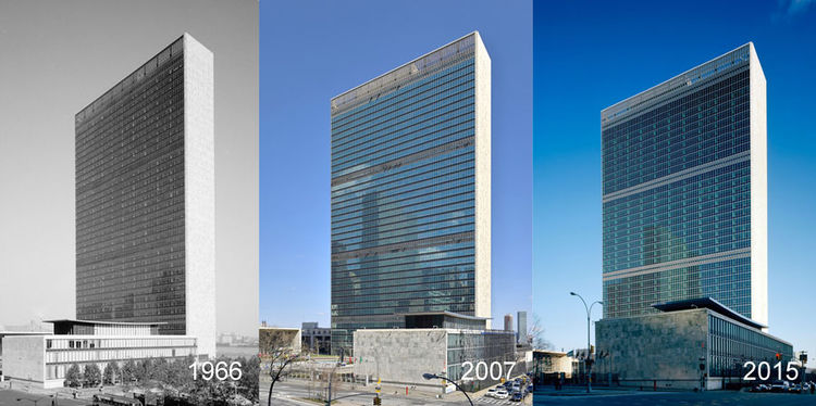 Citation of Technical Achievement given to United Nations Headquarters Campus Renovation of Facades.
