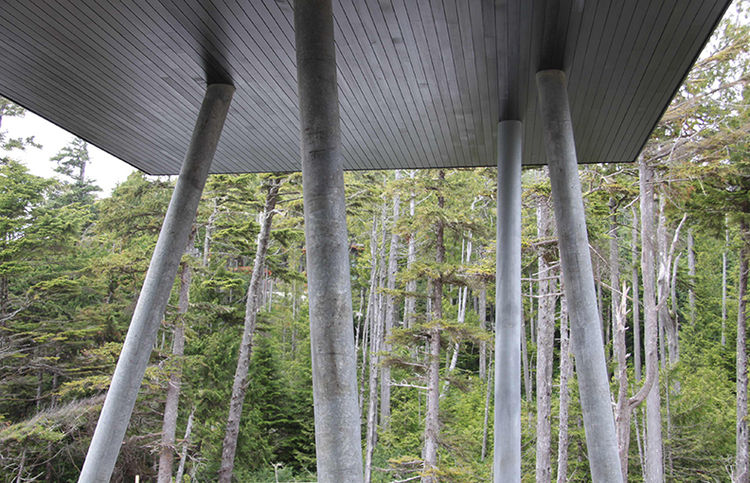 Tofino prefab steel beams