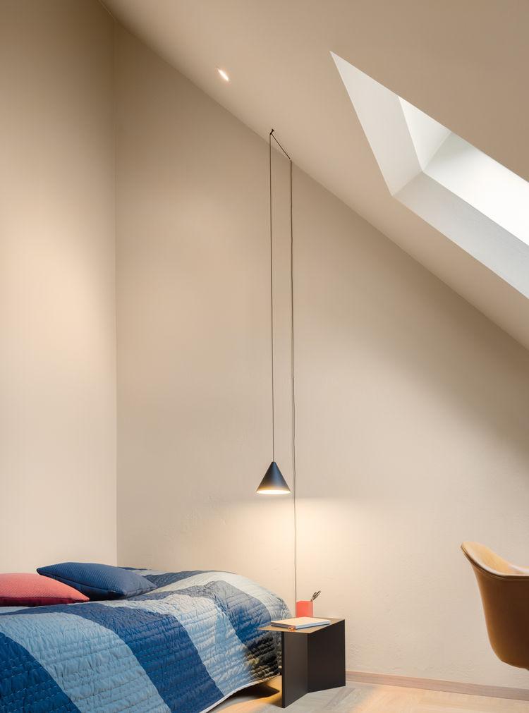 Stockholm loft bedroom