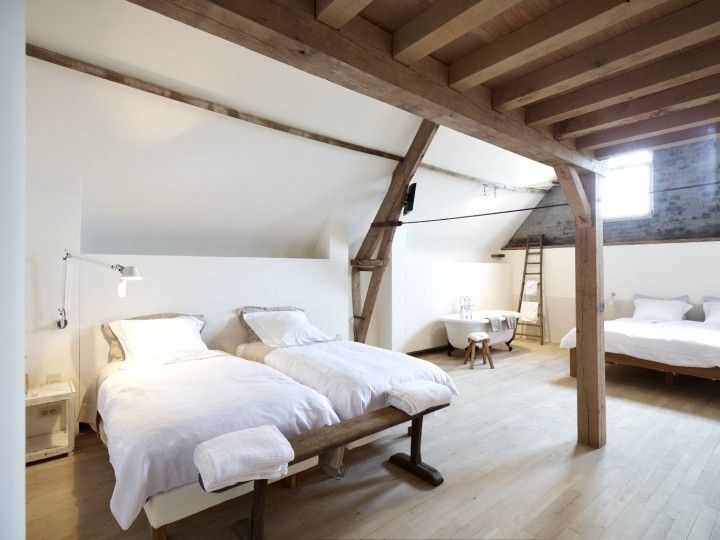 Bedroom Belgian farmhouse