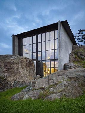 stone house, olsen kundig architects