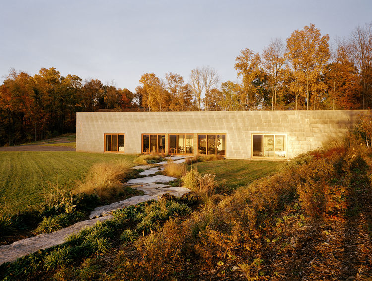 An eco-friendly landscape in the Hudson Valley