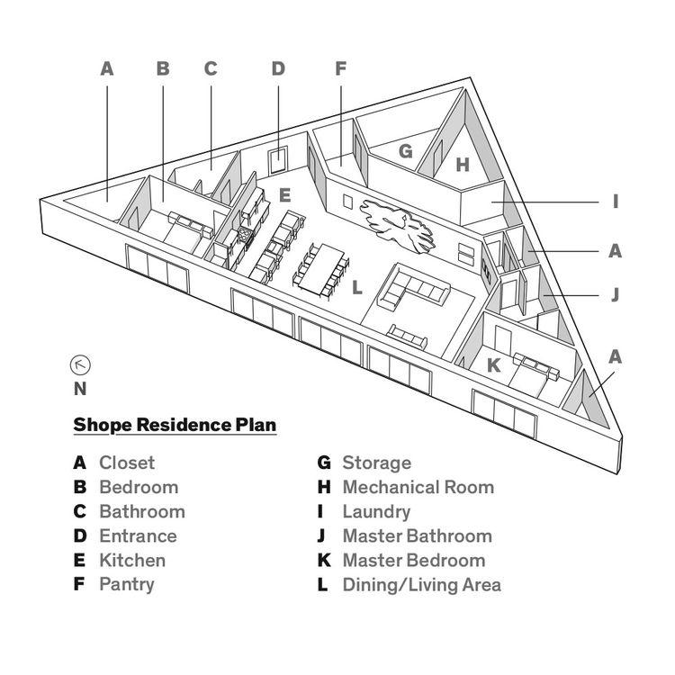 Shope Residence Plan