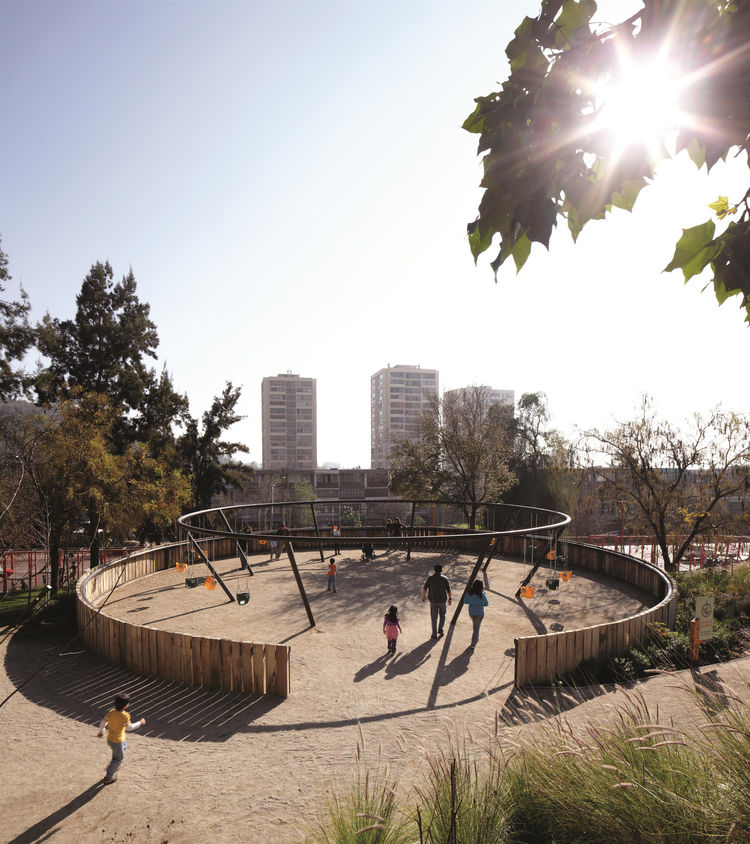 Bicentennial Children's Park in Santiago, Chile, 2012