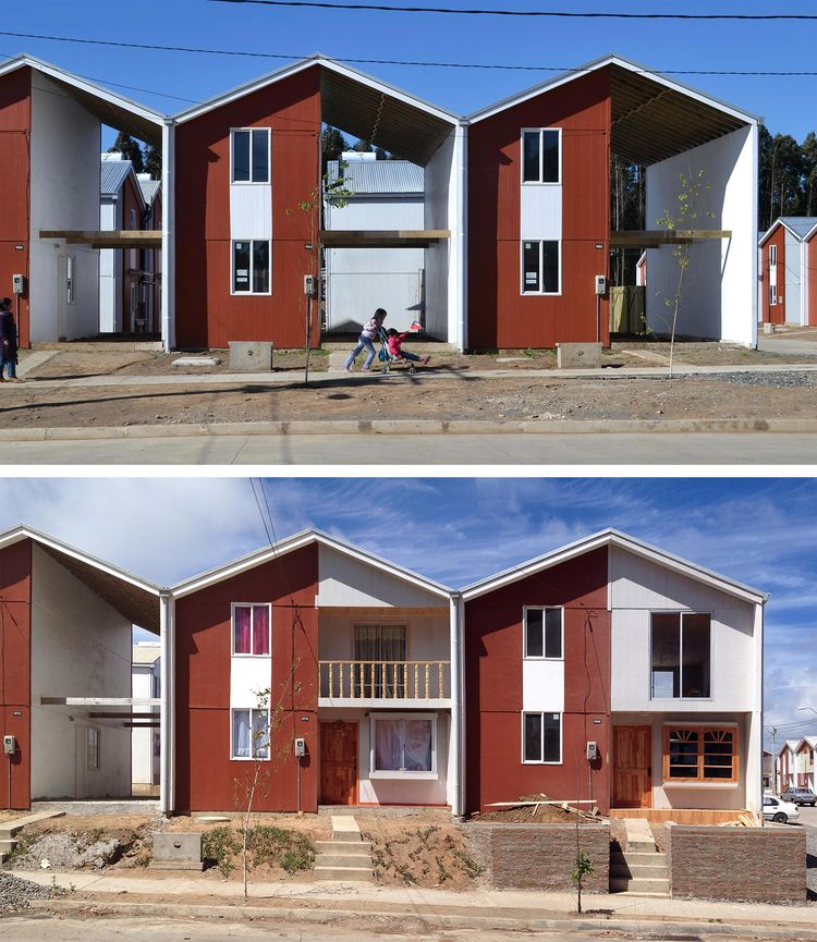 Villa Verde Housing, Constitución, Chile, 2013