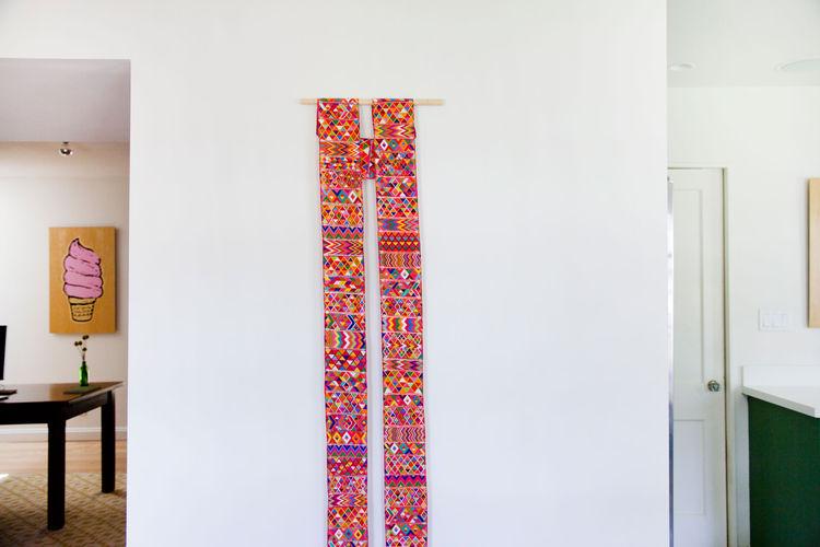 Allison Burke's Austin Home Renovation, Colorful Art