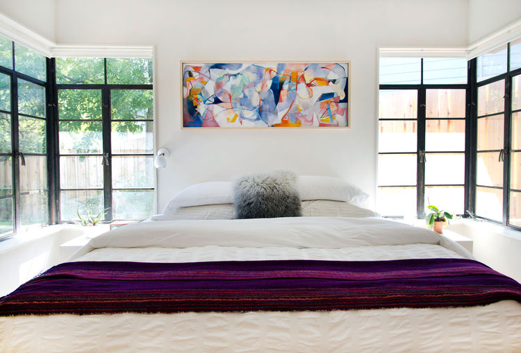 Allison Burke's Austin Home Renovation, Master Bedroom