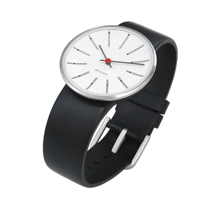 Modern watch inspired by 1960 wall clock