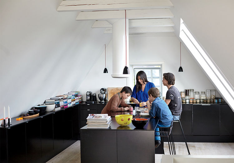 Copenhagen renovation kitchen.