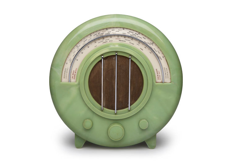 Rare green AD65 radio from Ecko.