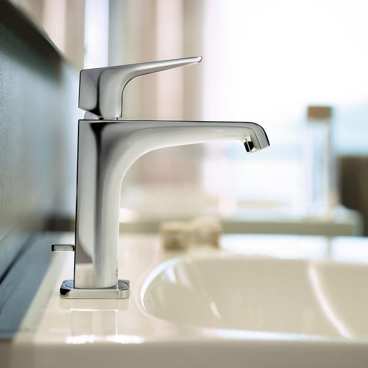 Antonio Citterio-designed faucet.