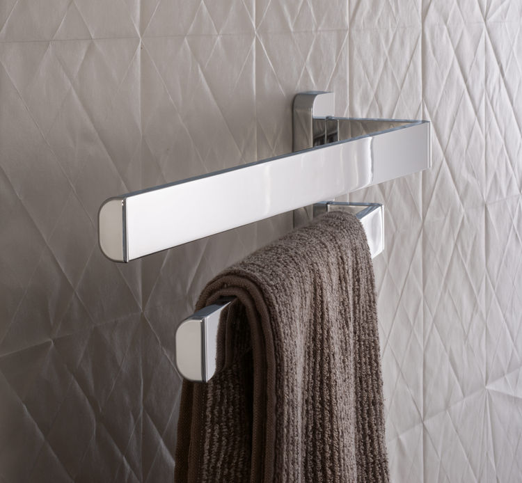 Wall bracket from Citterio's Axor Universal Accessories collection.
