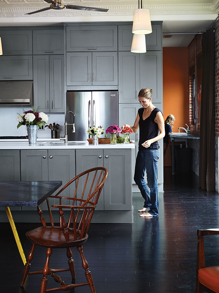 moden auburn bragg house kitchen bamboo flooring