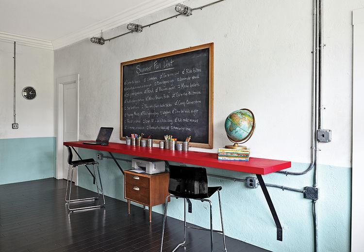 moden auburn bragg house study hall plywood tables