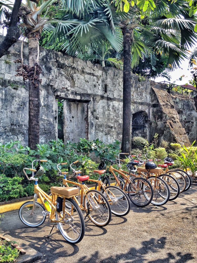 Bambike tour of Intramuros, Manila, The Philipines