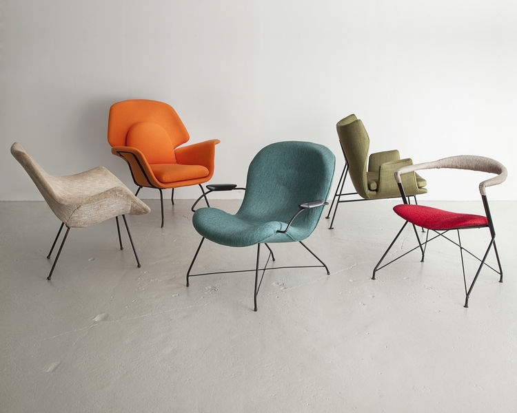 Lounge chairs produced by Forma.