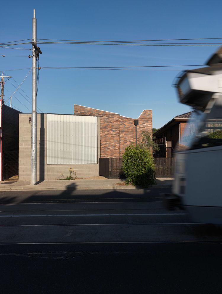 Bridge House 2 brick facade street