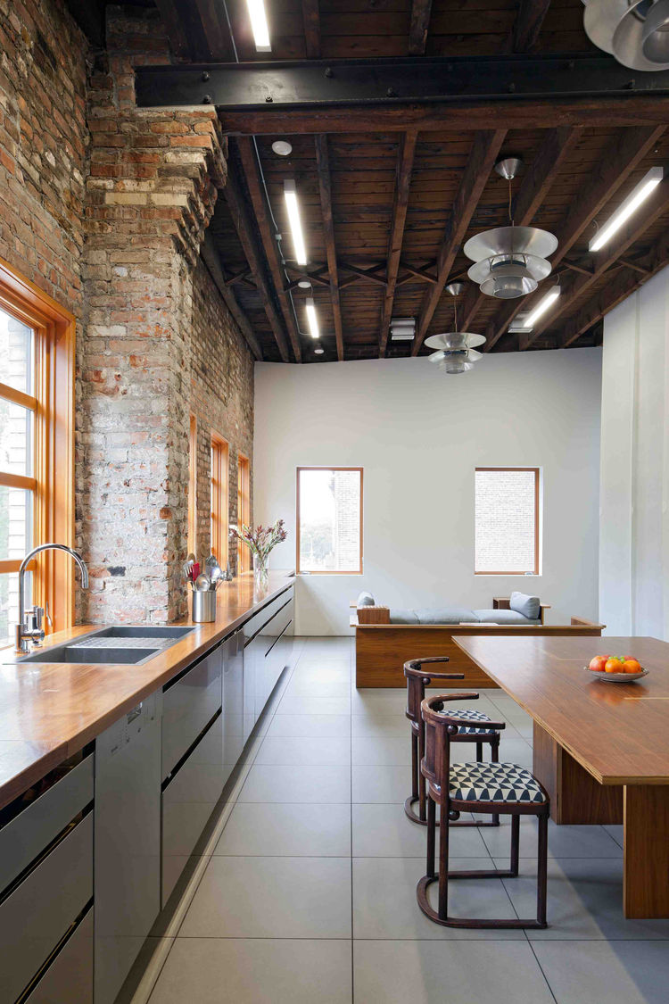 Brooklyn Artist Studio Kitchen