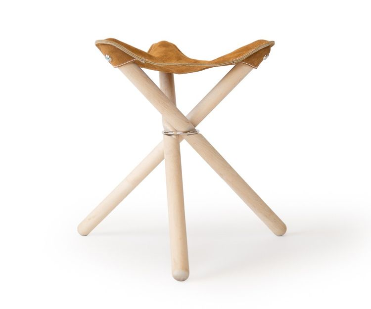 Simple, folding Backcountry Stool