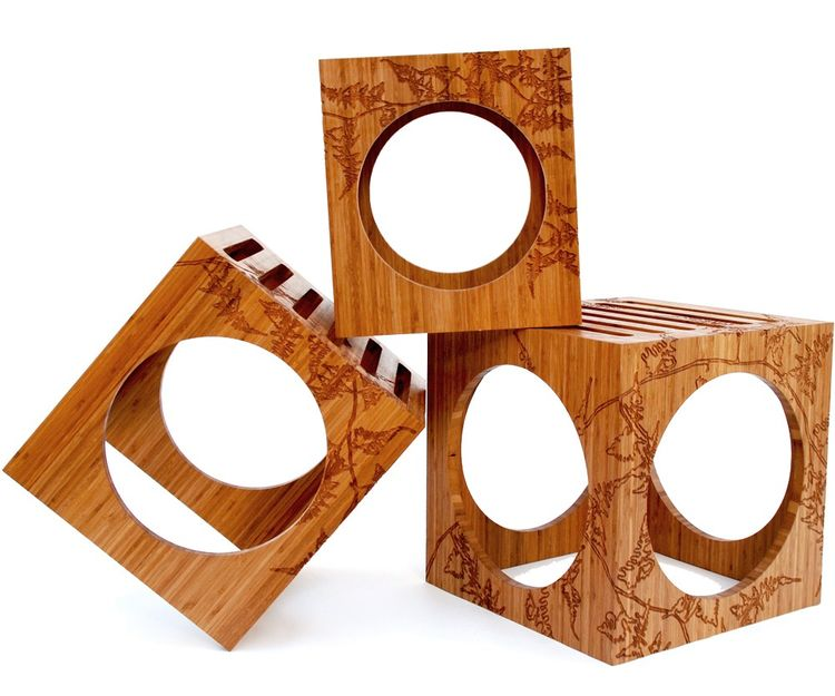 3 Blocks nesting tables by Kalon Studios