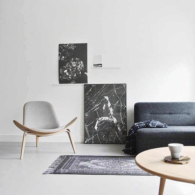 Carl Hansen and Son #globalhomes initiative at home in the Netherlands