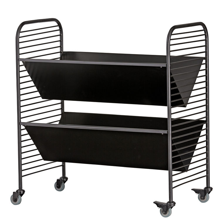 Linear book cart by Eric Trine for Land of Nod