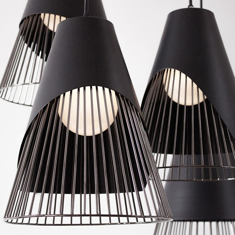 Geometric and sculptural pendant lights