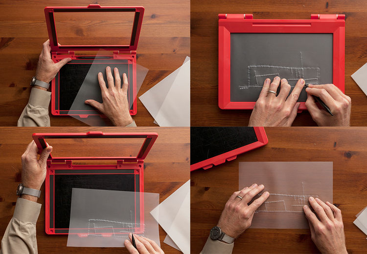 inTACT Sketchpad for the visually impaired