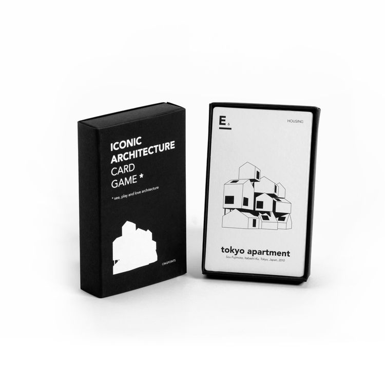 Card game designed for architecture enthusiasts