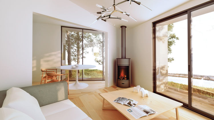 modern oyster house affordable living room