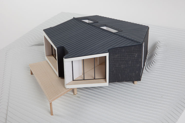 modern oyster house affordable prototype model