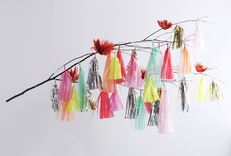 Tassel Branch Mobile by Confetti System