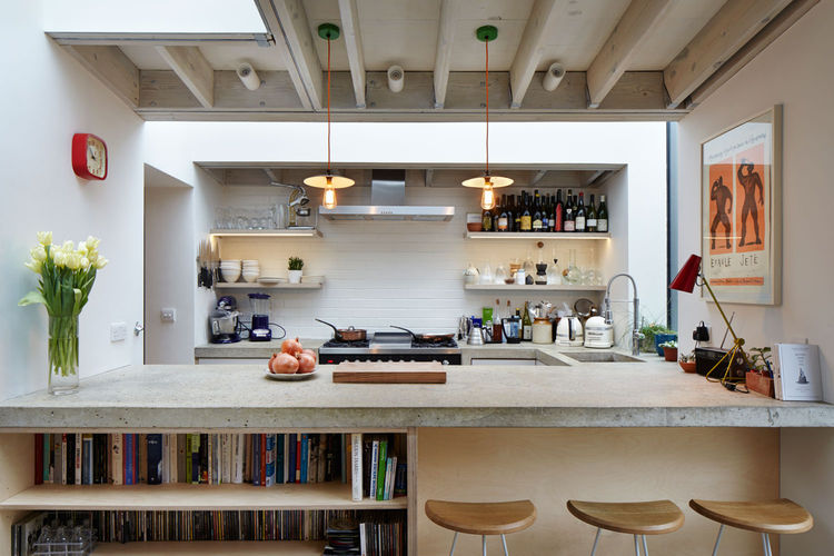 Modern kitchen for a London cook