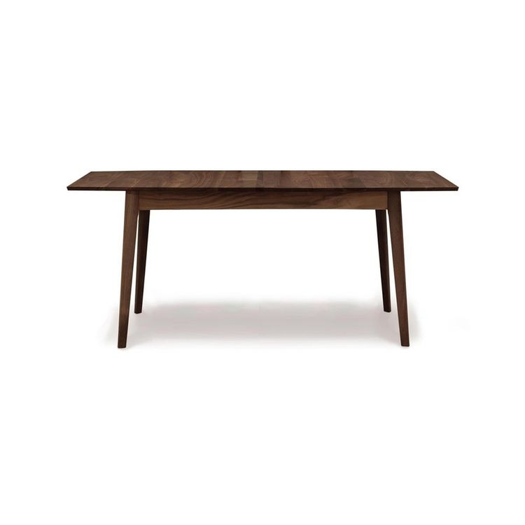 Modern dining table with fixed top