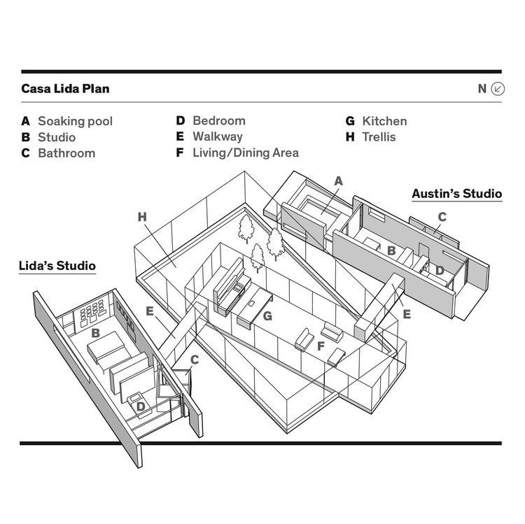 Casa Lida floor plan