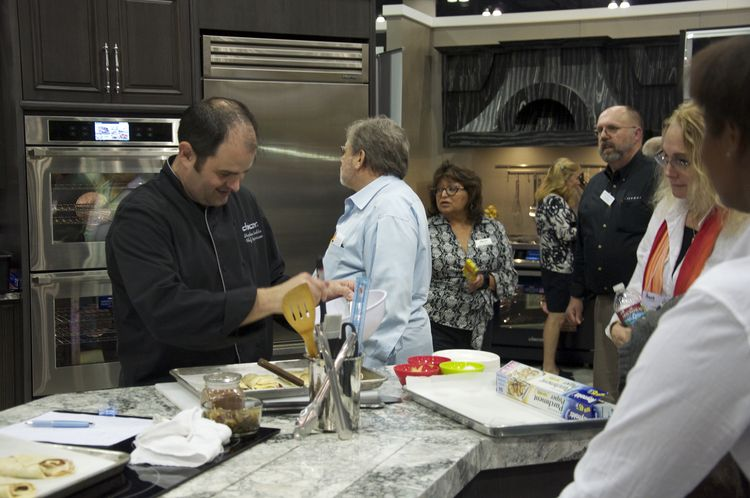 Dacor kitchen demonstrations at Dwell on Design