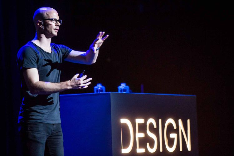 Benjamin Hubert at Design Indaba